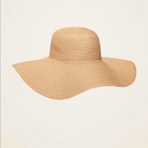NWOT Braided Wide Brim Sun Hat